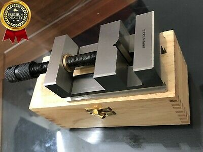 2-38 60mm Toolmakers Grinding Vise Vice Precision Machine Vice Wooden Box