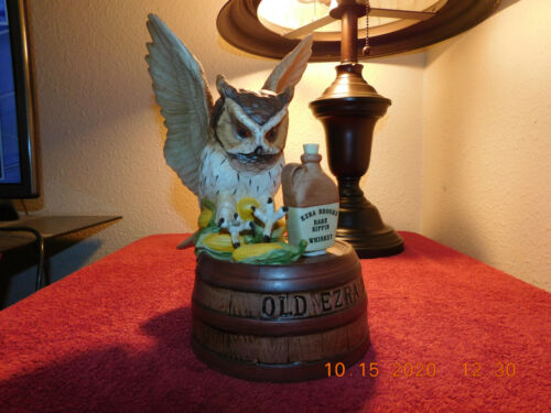 Ezra Brooks 1981 Owl #4 Decanter - Jim Beam Style