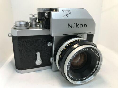 Near Mint Nikon F photomic-case-cap-shade