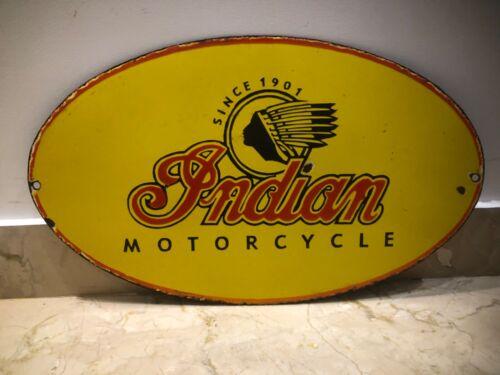 Indian motorcycles Porcelain Enamel Sign