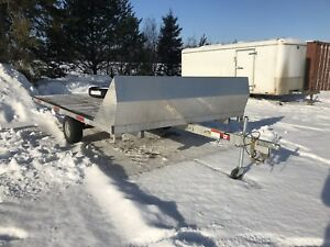 2018 JDJ snowmobile trailer for sale