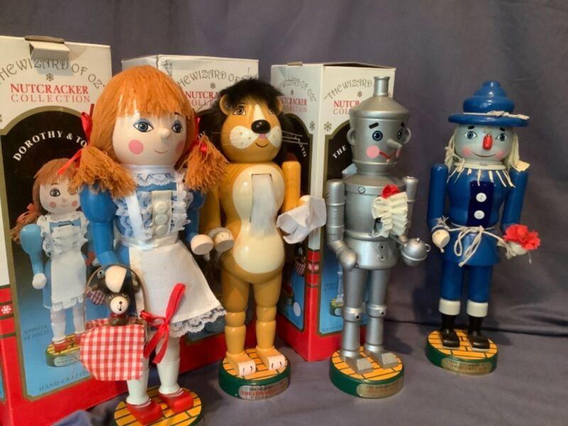 Kurt S Adler The Wizard of Oz Nutcracker Collection Pristine Set of Four