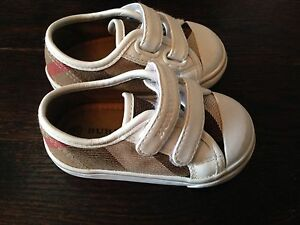 AUTHENTIC infant/toddler Burberry shoes