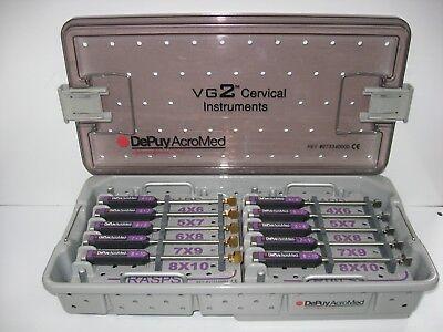 Depuy Acromed Vg2 Cervical Instrument Set