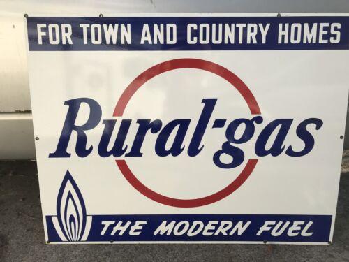 rare large gasoline porcelain sign - 500×375