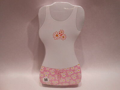 Brabo Shrink Wrapped Daisy Magic Top and Shorts Size Large - Just Add Water!