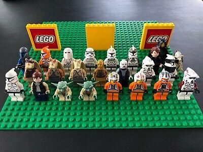 Huge LEGO Star Wars Minifigure Lot - Jedi, Trooper, Yoda, Anakin - You Pick!