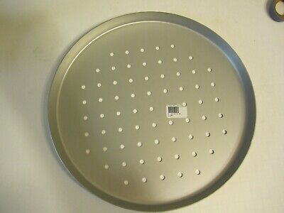 Aluminum 12 Inch Pizza Pan 34 Inch Deep Perforated- Dd12pp