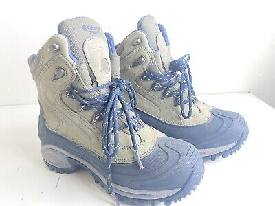 Columbia Titanium Ice Inferno Waterproof Insulated Snow Winter Boots womens 7 Columbia Winter Snow Boots