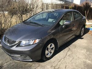 Honda Civic LX 2015, 19,500km