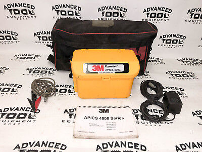 3m Dynatel Apics 4000 Cable Pipe Fault Locator With Carrying Case Cables