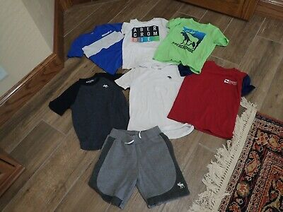 Abercrombie Kids Shirts And Shorts Size 7/8 Lot