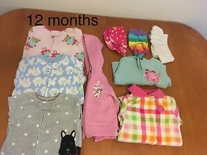 Girls 12 months clothes