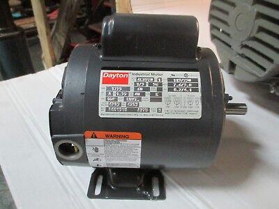 Dayton Industrial Motor 13 Hp 1725 Rpm 115230 V 7.63.8 A