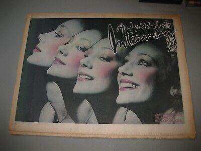 Andy Warhol Interview Magazine February 1975 Carrie Fisher Jeff Bridges Berenson