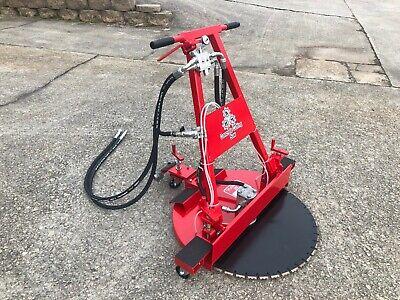 30 Horizontal Hydraulic Concrete Cutting Flush Saw