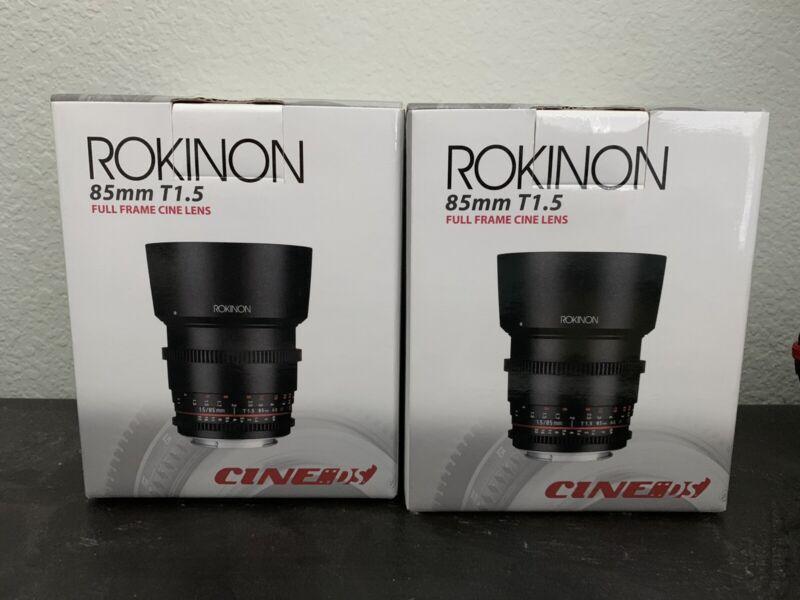 Rokinon 85mm T1.5 L Cine Lens for Micro Four Thirds Mount