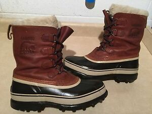 Men's Sorel Caribou Waterproof Winter Boots Size 10 London Ontario image 1