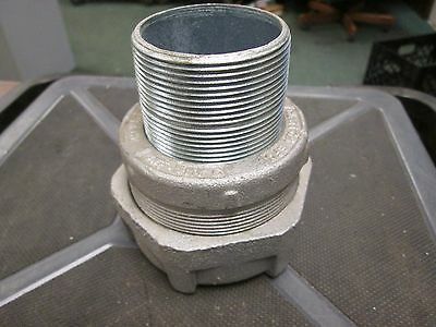 Crouse-hinds Explosion Proof Coupling Unf-uny-6 Size 2 Used