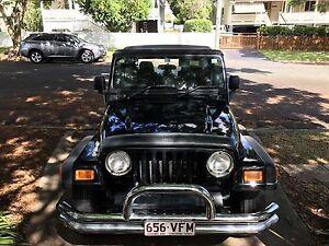 Jeep Wrangler 2006 Sport Black 6 speed Manual New Farm Brisbane North East Preview