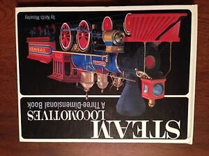 Steam engines pop-up book