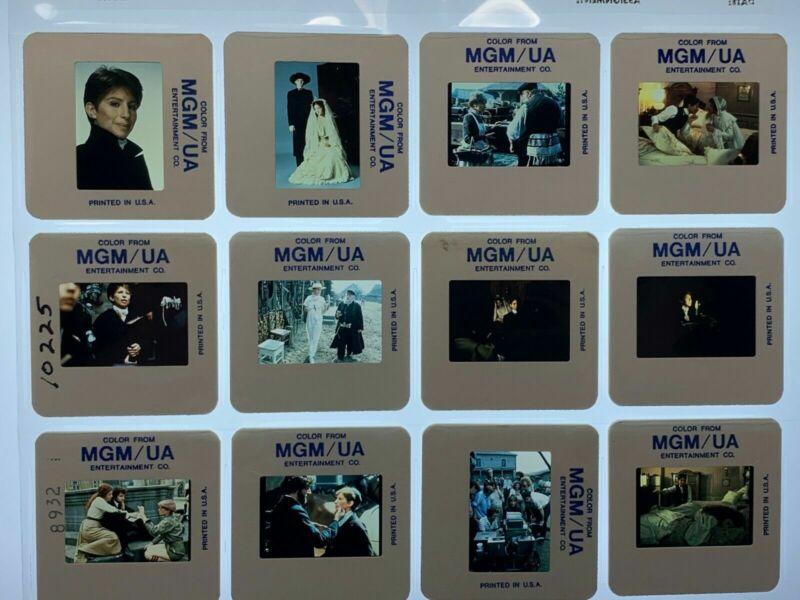 12 Yentl Movie 35mm Slides Barbra Streisand Press Promo Vtg 1983 Lot #2