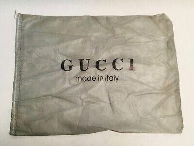 GUCCI Vintage grey dustbag for handbag 38 x28 cm