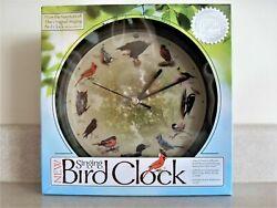 8 Singing Bird Clock 12 Songs Wall Desk Mark Feldstein Limited Edition