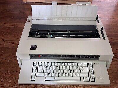 Ibm Wheelwriter 3 Electronic Typewriter New Ribbon Tested Working Cleaned