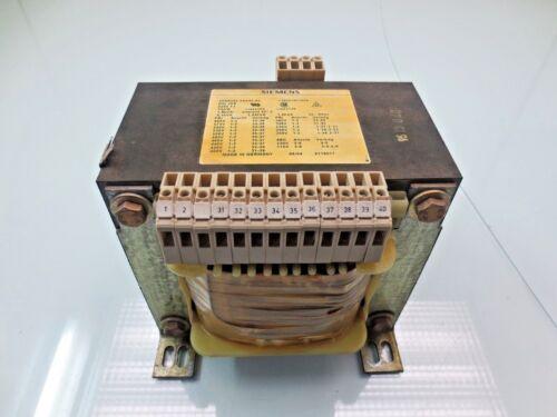 SIEMENS 4AM6095-0AA40-0C Transformer CLASS 105, 130