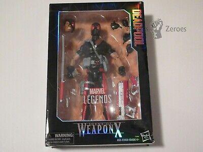 Marvel Legends AGENT OF WEAPON X Deadpool 12-inch Action Figure Damaged Box NIB