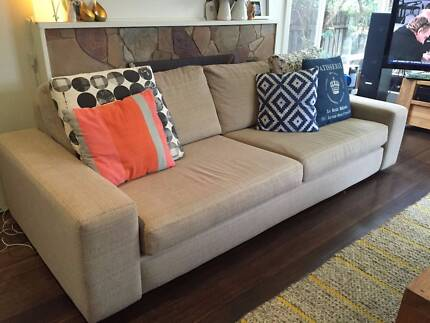 2 x 2.5 seater lounge from Sofa's Direct Beaumaris Bayside Area Preview