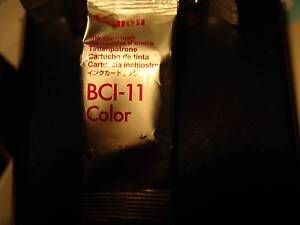 Canon BCI 11 ink cartridge Genuine Colour  -  Made in Japan $9 ea Adelaide CBD Adelaide City Preview