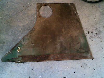 Oliver Super 77 Diesel Rowcrop Tractor Original Rear Side Curtain Panel Cover