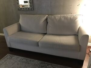 Comfy Fairly New Couch with Pull Out Bed