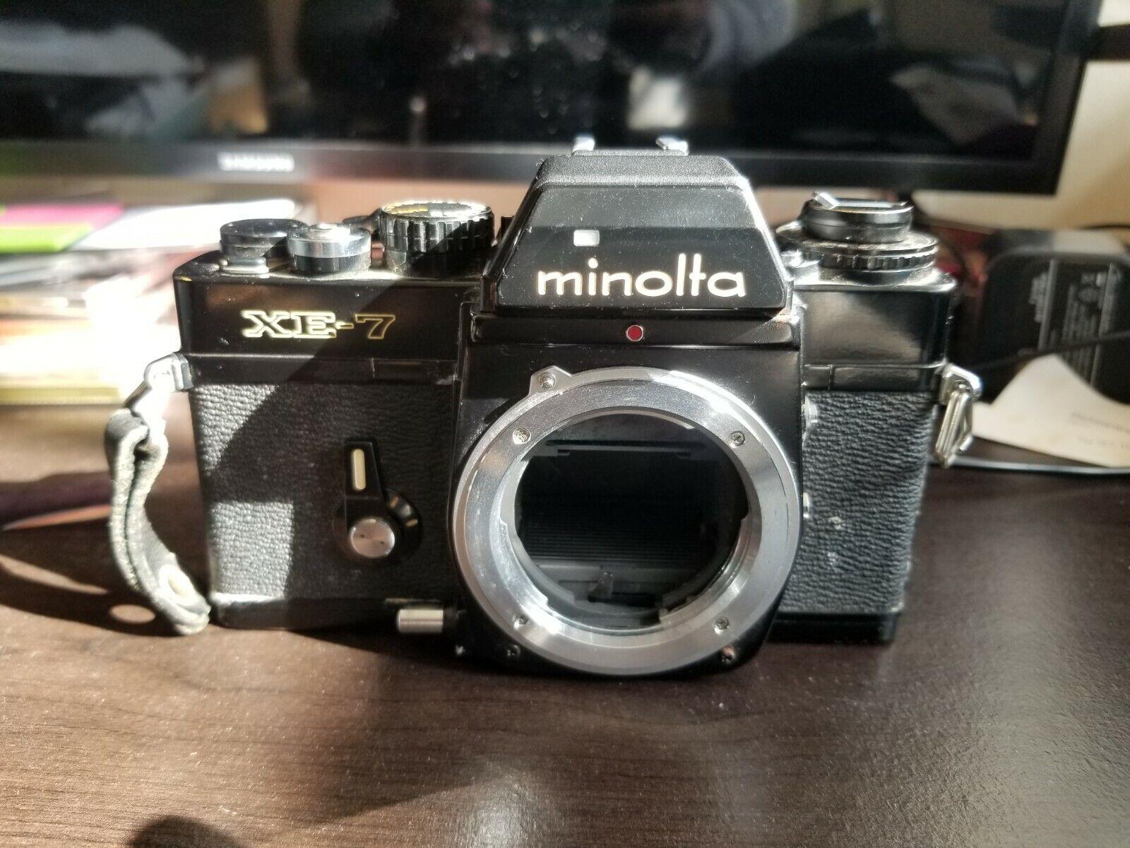 Minolta XE-7 35mm SLR Film Camera For Parts - $5.00