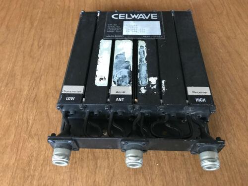 Cellwave UHF Duplexer 633-6A N connectors