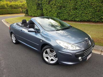 2006 Peugeot 307 Convertible - DRIVES GREAT - 1 YEAR WARRANTY Sippy Downs Maroochydore Area Preview