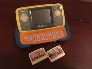 VTech MobiGO Touch Learning System with games $25obo