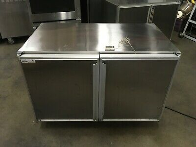 Silver King Skr48c2 2 Door Undercounter Refrigerator