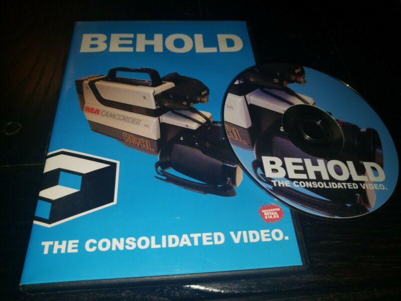 Behold The Consolidated Video DVD Skateboarding Skate Video