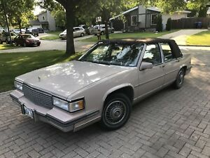 1988 Cadillac Deville - safetied and running well!