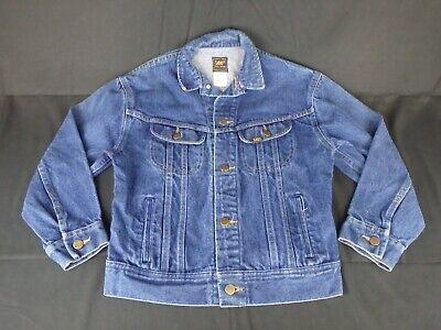 VINTAGE LEE DENIM JACKET M L 153 438 MADE IN USA for sale  Shipping to India