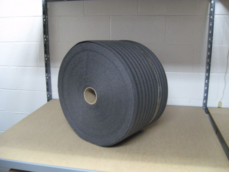 "1/8"" PE Black Recycled Foam Wrap 12"" x 275"