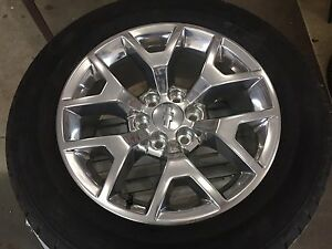 GM wheels and tired