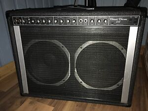 Classic chorus 212 with foot pedal