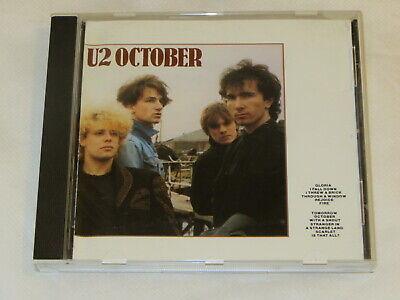 U2 October (CD 1994) BMG Direct Marketing, Inc. RECORD CLUB ISSUE ()