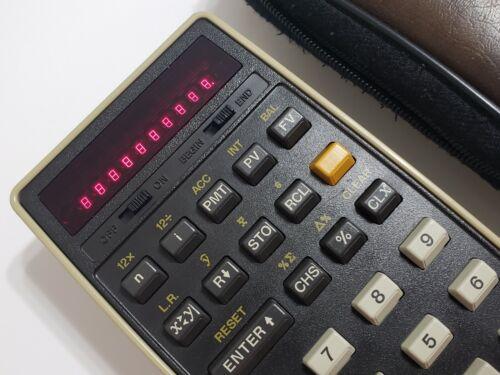 HP 22 Hewlett Packard Calculator in excellent condition
