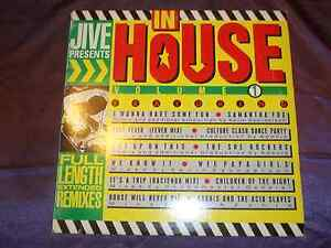 Jive-Presents-In-House-Volume-1-LP-House-Music-Record-Dance-DJ-Vinyl