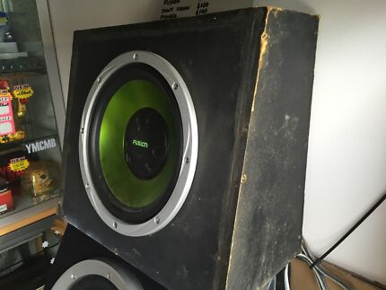 Assorted Subwoofers in Box Edmondson Park Liverpool Area Preview